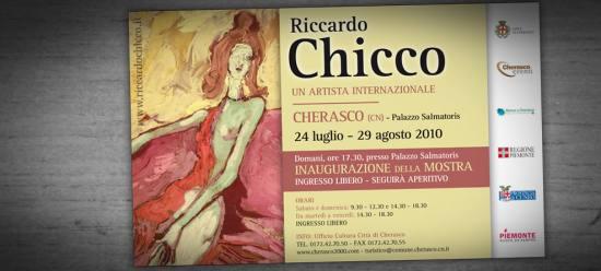 Riccardo Chicco:<br/>un artista internazionale - 2010