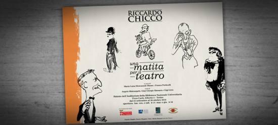 Riccardo Chicco:<br/>una matita per il teatro